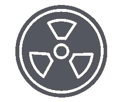 objetos radioactivos